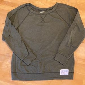 Old Navy Green Pullover Sweatshirt